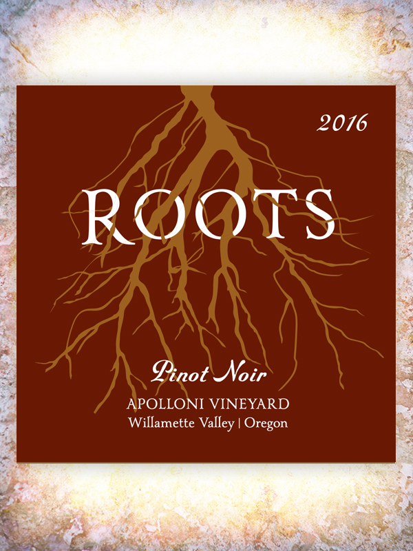 Roots 2016 Apolloni Pinot Noir