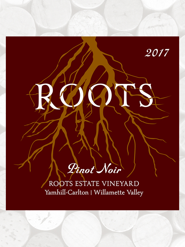 Roots 2017 Estate Pinot Noir, Yamhill-Carlton AVA