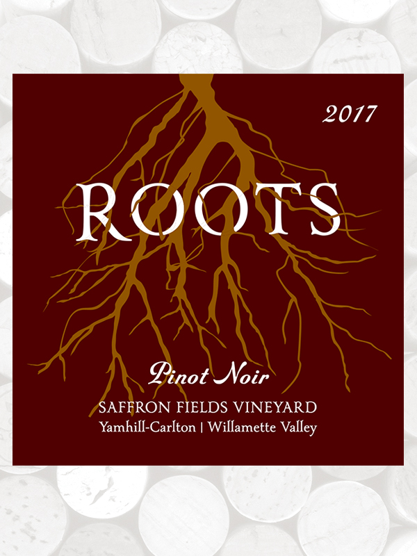 Roots 2017 Saffron Fields Vineyard Pinot Noir, Yamhill-Carlton AVA