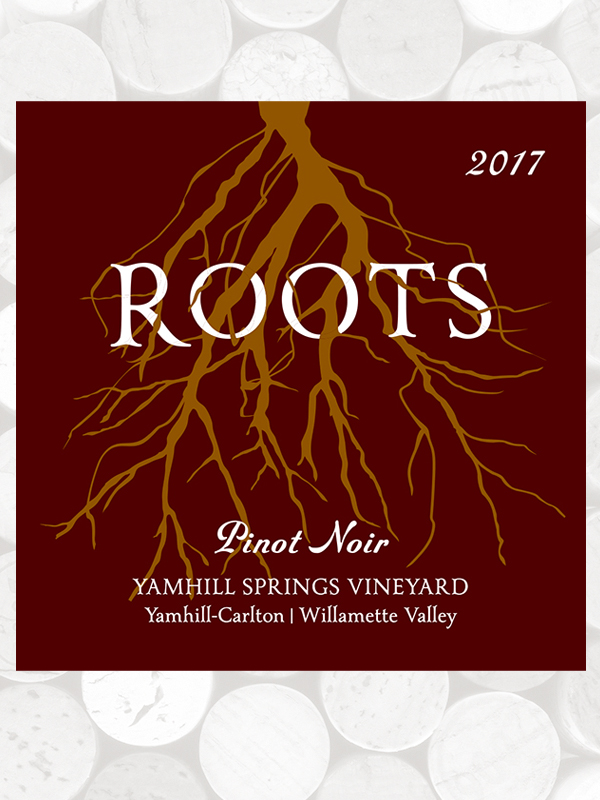 Roots 2017 Yamhill Springs Vineyard Pinot Noir, Yamhill-Carlton AVA